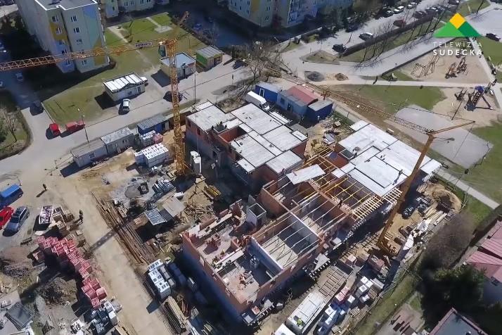 Nowy spółdzielczy budynek i plany inwestycji mieszkaniowych