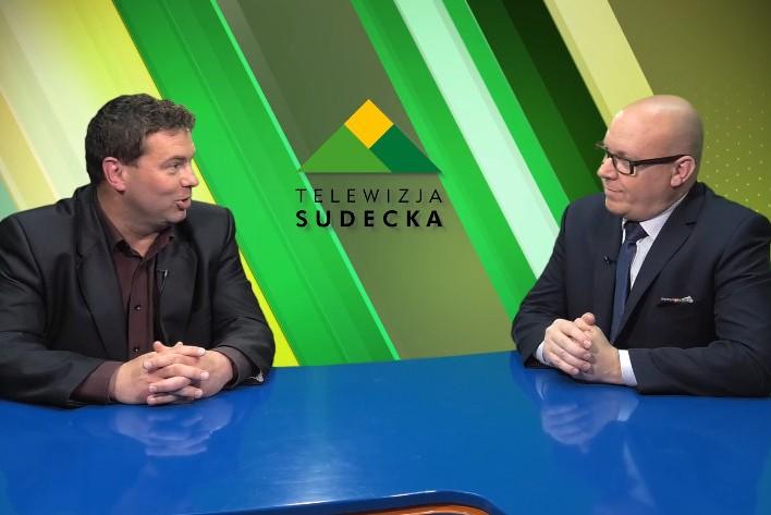 Rozmowa z prezesem Danielem Kolinko w TV Sudeckiej
