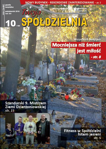Październikowy numer Twojej Spółdzielni