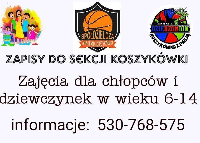koszykówka ogłoszenie