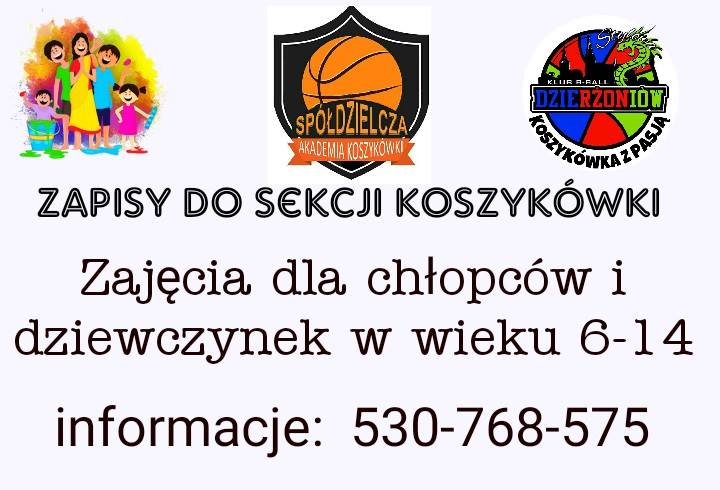 Sekcja koszykówki