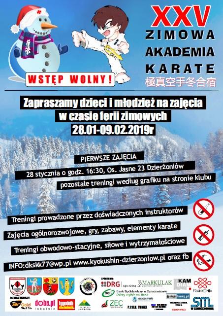 XXV Zimowa AkademiaKarate