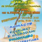 Festyn za zakończenie wakacji w Piławie Górnej – 5 września